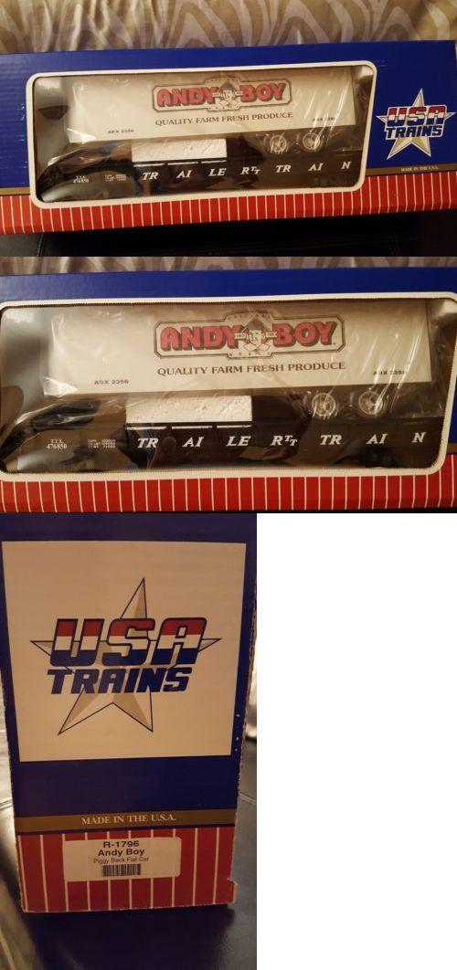 Freight Cars 122580: Usa Piggyback Flatcar Andy Boy R1796 -> BUY ...