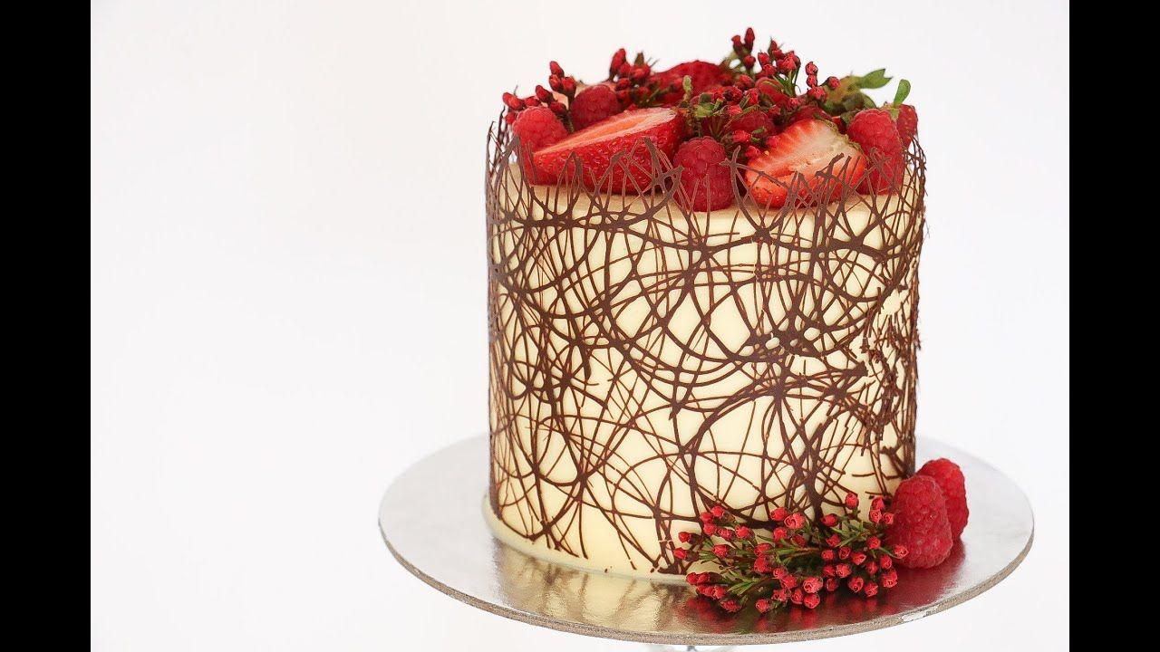 Chocolate Border Cake Tutorial- Rosie's Dessert Spot ...