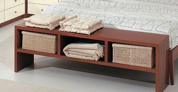 Panca Camera Da Letto : Panca in legno con contenitore living by ...