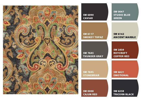 Color Palette Inspiration for Exterior Craftsman Home Paint Scheme, Stone Accents, Shingle Choice and Landscaping. Chip It! by Sherwin-Williams – Home