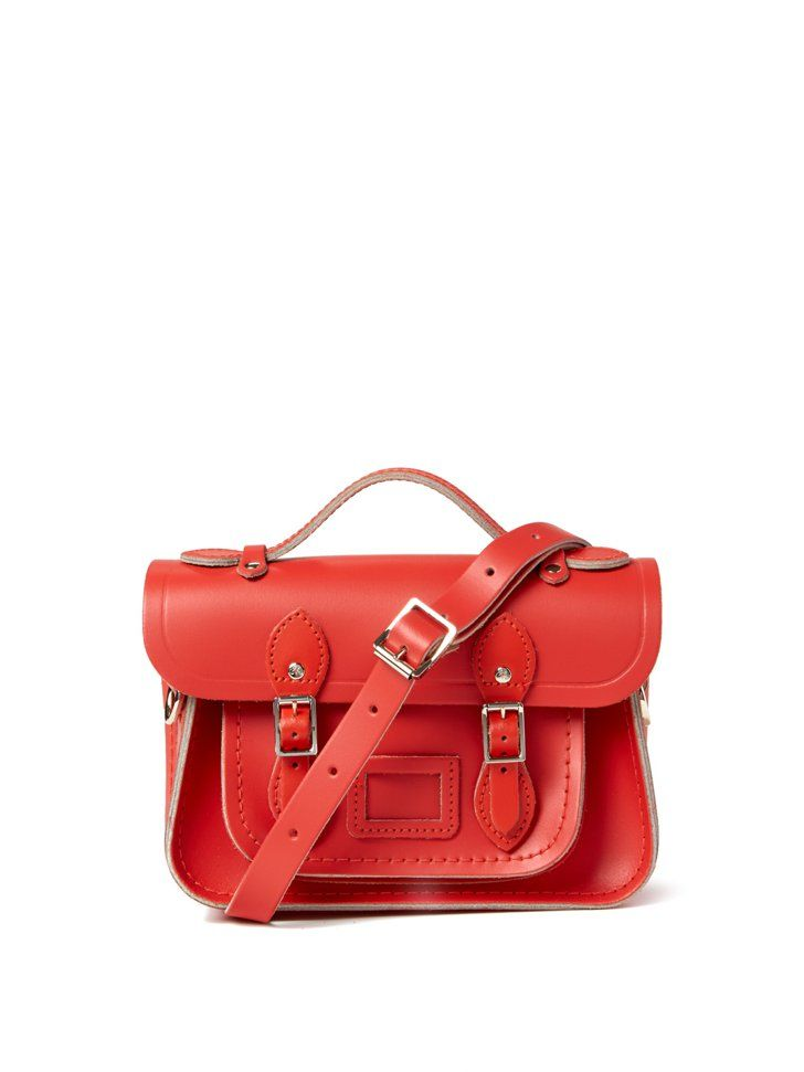 Pin for Later: This Is the Bag You Wish You Had When You Were in High School Arancia Cambridge Satchel Company Mini in Arancia ($210)