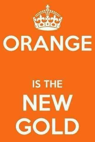 Image result for prince and the color orange