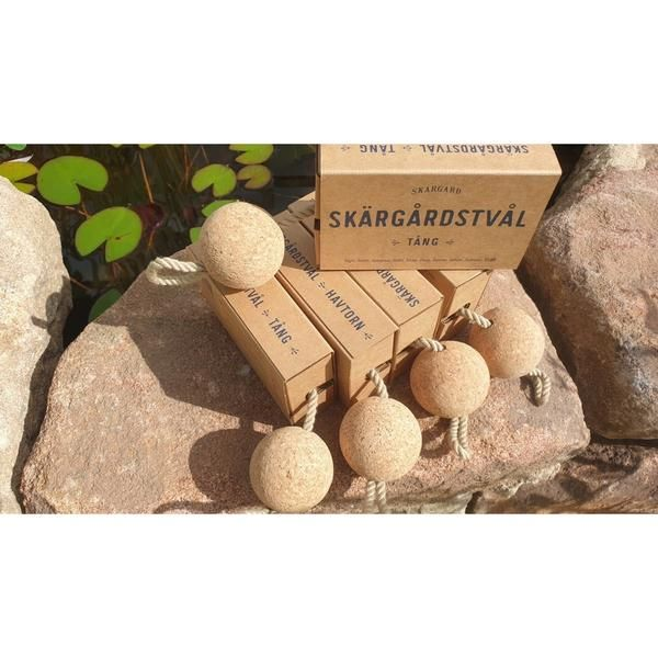 Seabuckthorn Soap With Cork 180g