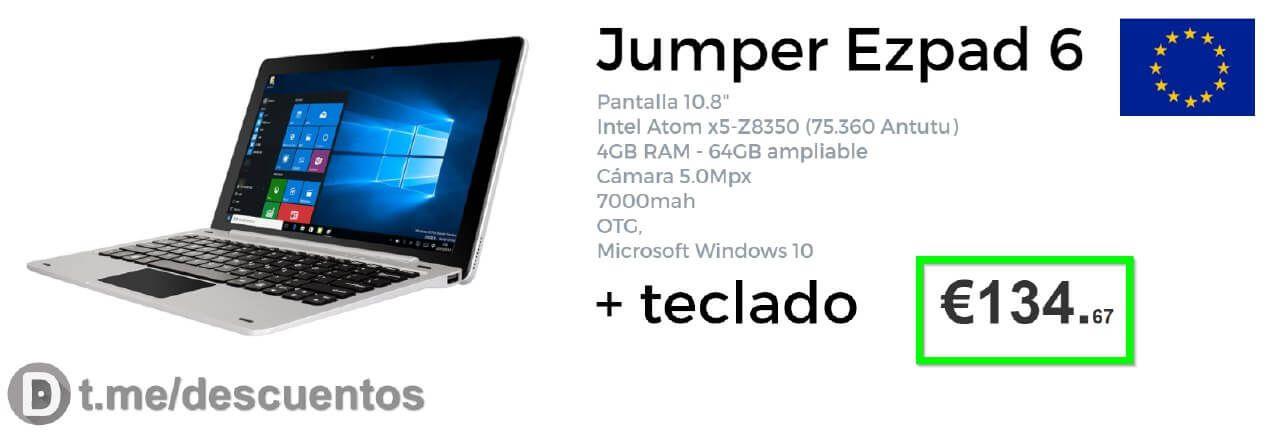 Tablet EZpad 6 4GB disponible por sólo 134 - http://ift.tt/2r8dIqb