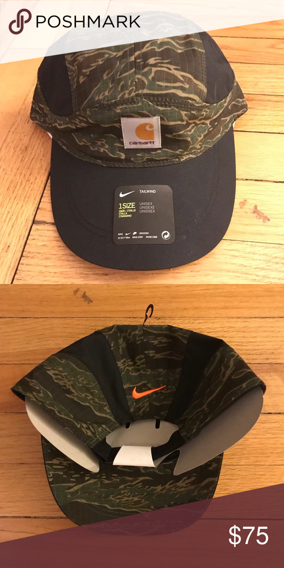 06468b8fcf Nike x Carhartt Tailwind Camp Cap Brand new. Dead stock. Apart of the  Carhartt WIP x Nike collab this past November. Add $8 for shipping.  Accepting offers.