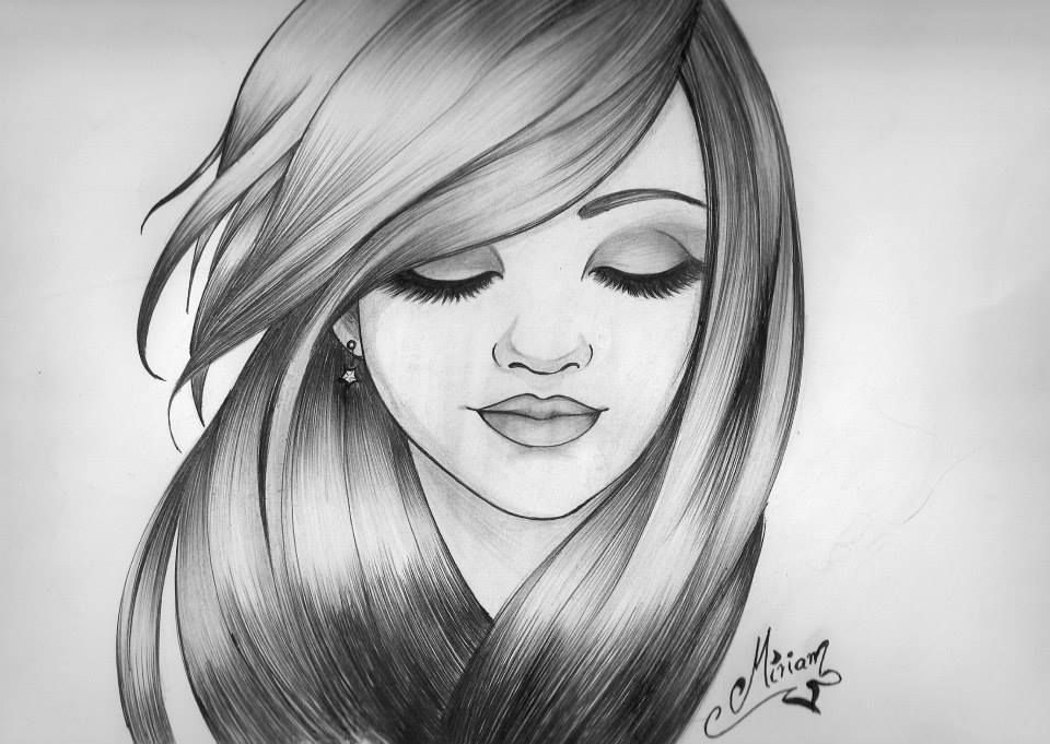 Pin By Yanaisel On Dibujos Sketches Girl Drawing Sketches Art Drawings Sketches