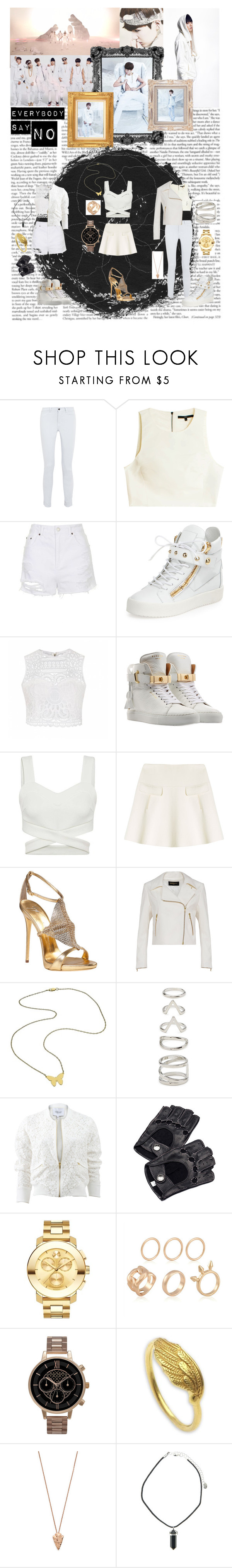 """Everybody say N.O"" by choihyora123 ❤ liked on Polyvore featuring J Brand, TIBI, Topshop, Giuseppe Zanotti, Ally Fashion, BUSCEMI, Oscar de la Renta, Jennifer Zeuner, Forever 21 and 10 Crosby Derek Lam"