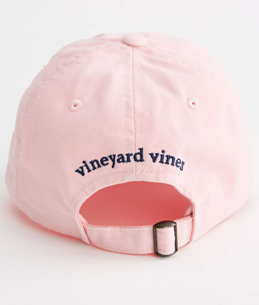 e18591769f3 Vineyard Vines Whale Logo Baseball Hat - Flamingo