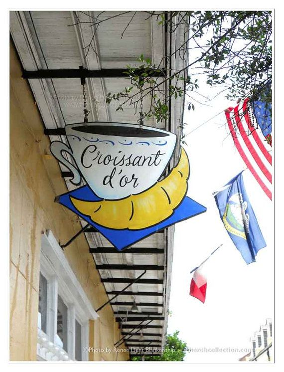 Croissant dOr Photo New Orleans Photography French Quarter