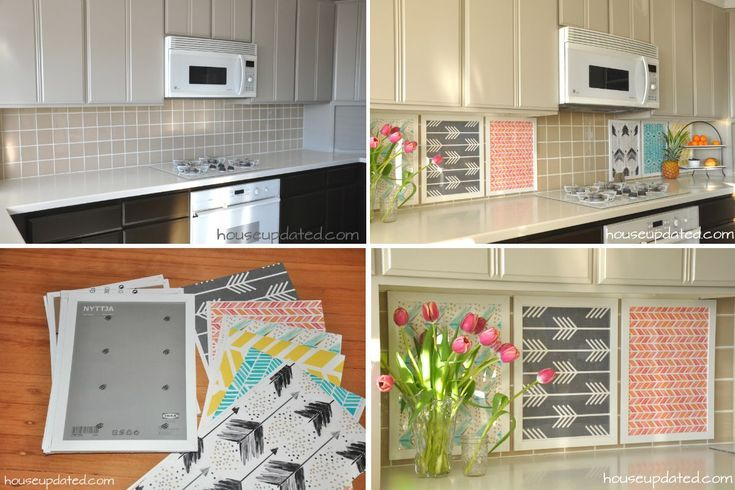 Best of Rental Rehab 13 Removable DIY Kitchen Backsplashes Ideas - Model Of Diy Tile Backsplash Picture