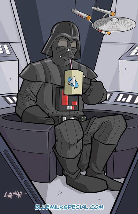 Vader by stratosmacca.deviantart.com on @DeviantArt VADERS A TREKKIE