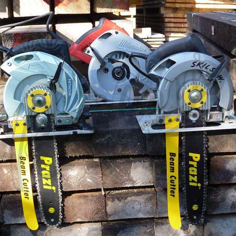 Prazi pr beam cutter for non worm drive circular saws