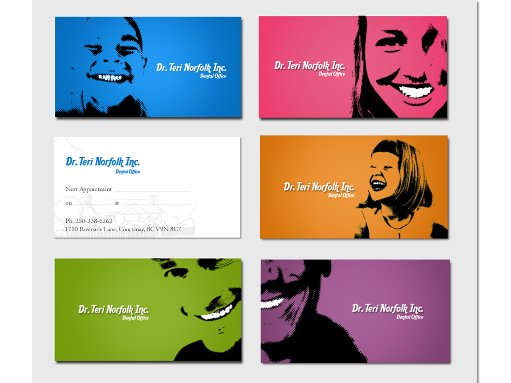 Unique Business Card Design  Like How They Are All Different And