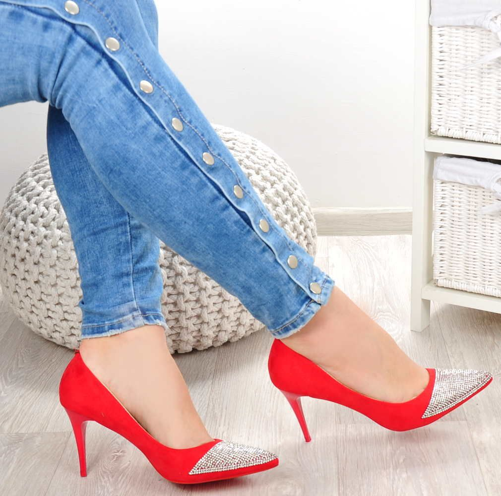 Czerwone Szpilki Red Heels Stiletto Heels Stiletto Shoes