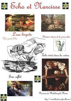 Le Mythe De Narcisse Aujourd'hui : mythe, narcisse, aujourd'hui, Mythe, Grec...Echo, Narcisse..., Grec,, Mythes,, Narcisse
