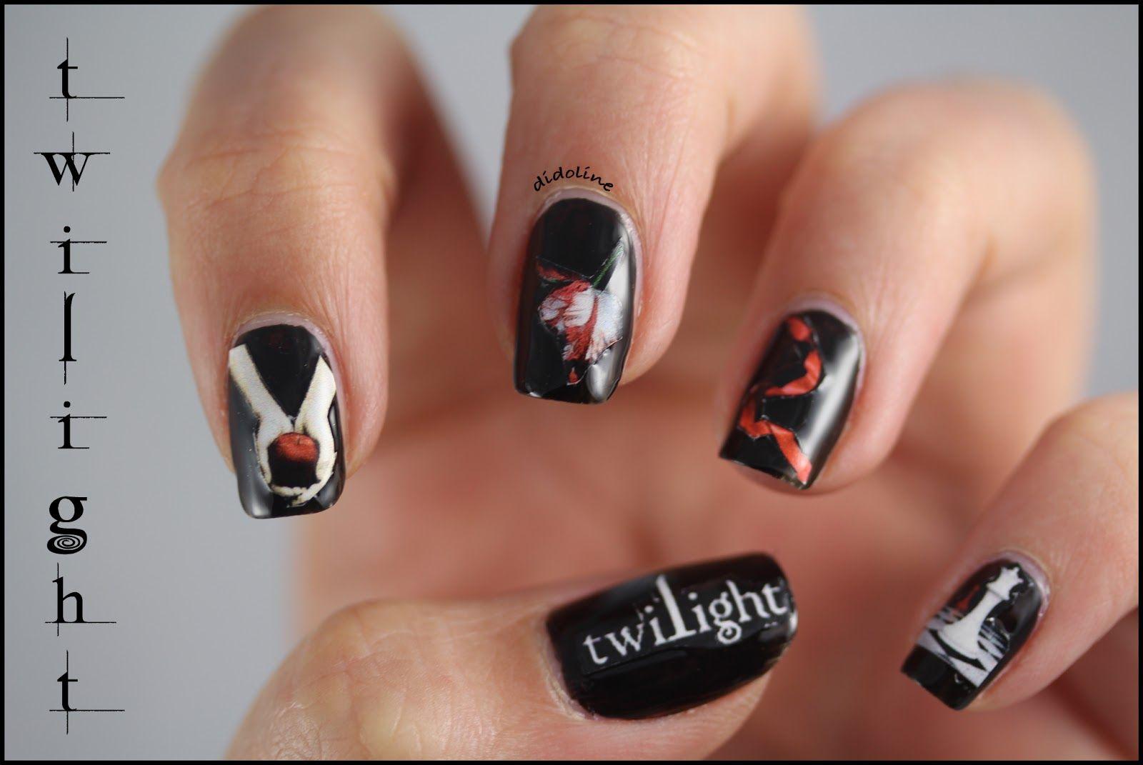 Twilight Nail Nails Nailart Nails Pinterest Nail Nail And