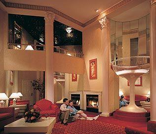 The Roman Tower Room Poconos Theme Hotel Resort