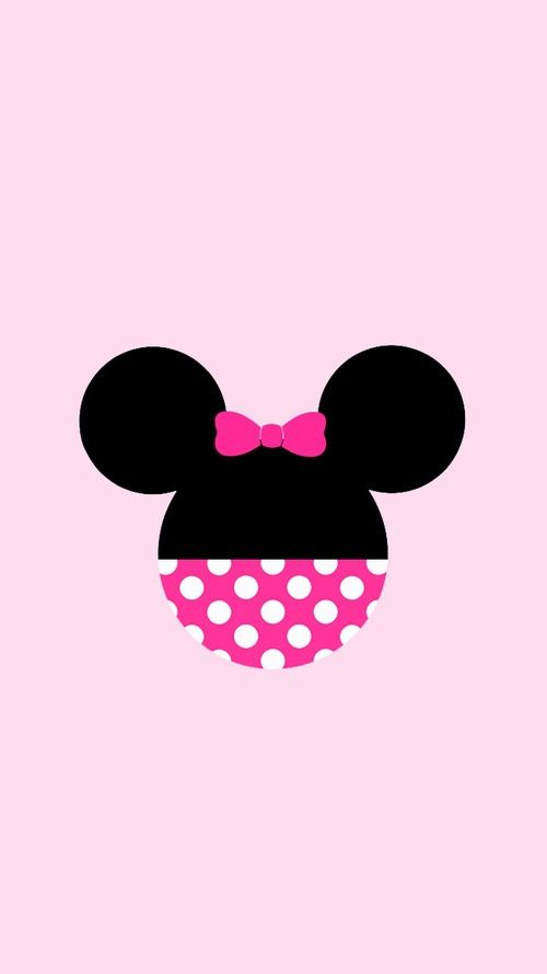 Love Wallpapers And Minnie Image On We Heart It