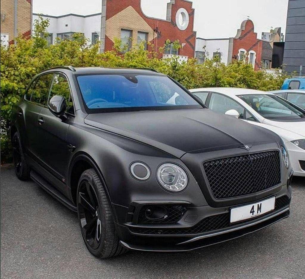 Bentley Bentayga Black - Google Search