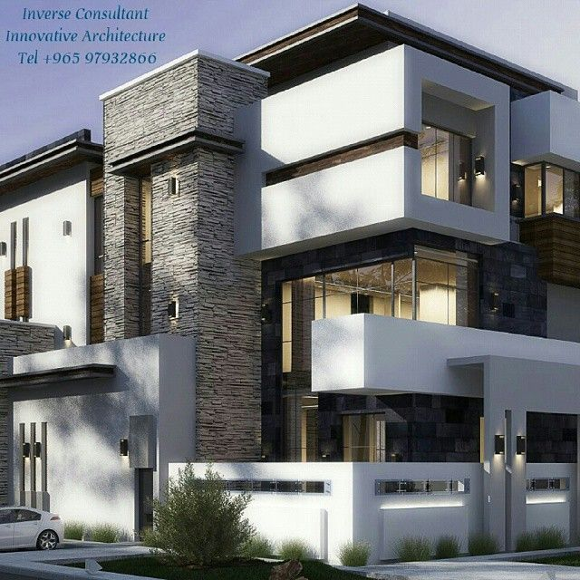 Private villa concept design by inverse architecture firm for Modern house uae