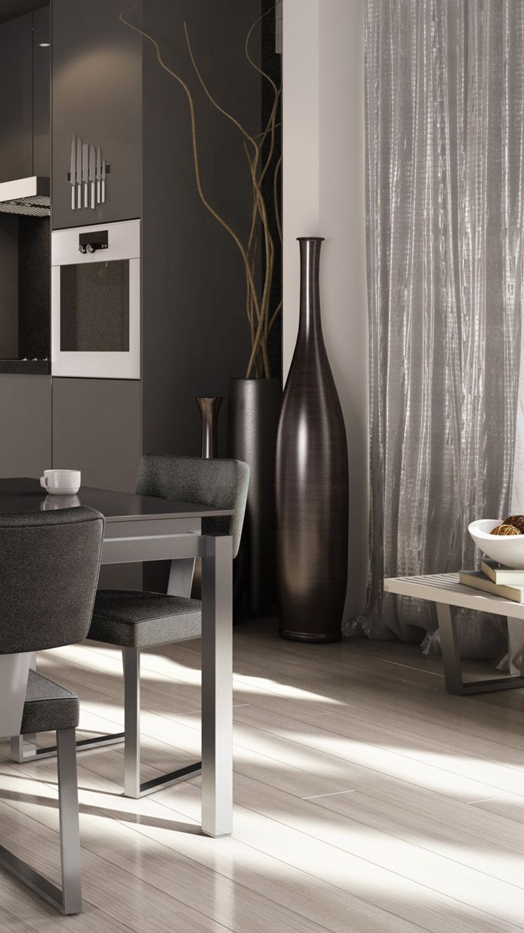 Designer Wallpaper Iphone 6 Home Decor Monochromatic C