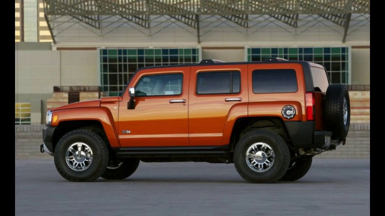New Hummer H3 exterior and appearance