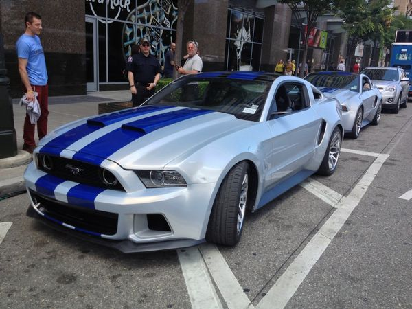 Video: 'Need for Speed' Ford Mustang tears through downtown Detroit