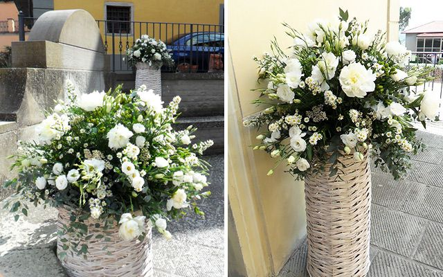 Allestimenti Floreali Matrimonio Country Chic : Matrimonio in stile country chic matrimonio wedding flowers