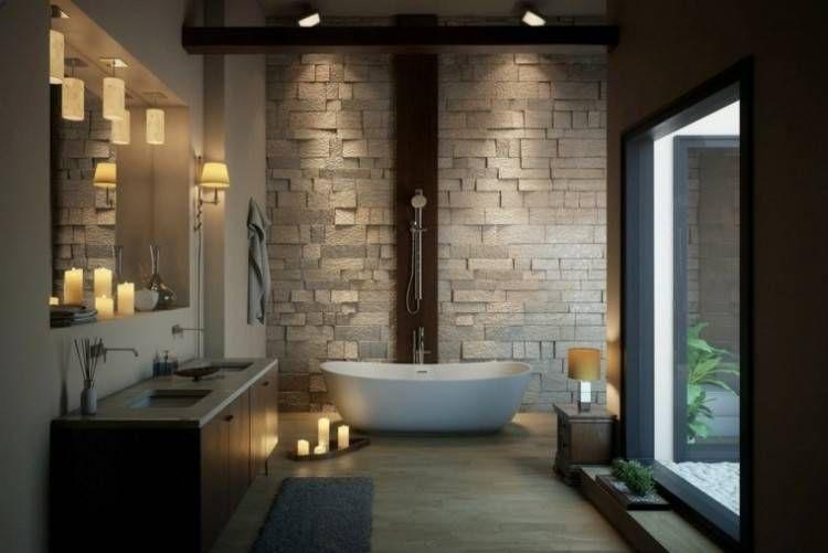 Salle Bain Moderne: Magnifique salle bain moderne à salle de ...