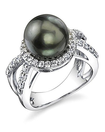 Gorgeous Tahitian Cultured Pearl Leah Ring *** CONTINUE @ http://www.finejewelry4u.com/store/gorgeous-tahitian-cultured-pearl-leah-ring/?c=0716