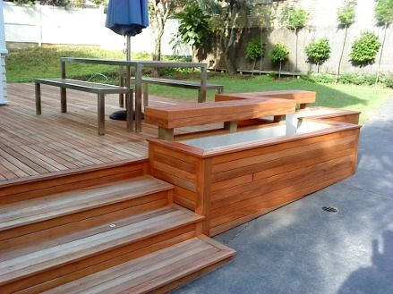 Best Deck Stairs With Seating Creative Building Solutions 400 x 300