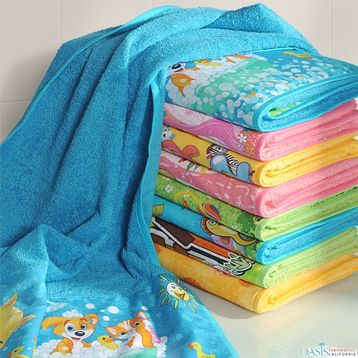 Kids Sublimated Fun Towel Set Manufacturers Suppliers Usa Australia Sublimation Towel Supplier Towel Set