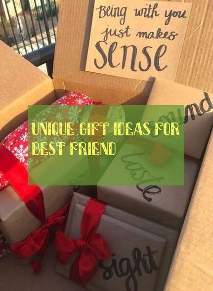 unique gift ideas for best friend