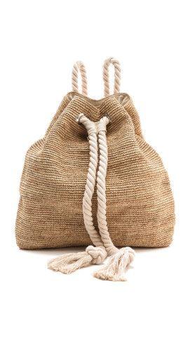 Bop Basics Raffia Crochet Backpack Shopbop Pinterest Colombia
