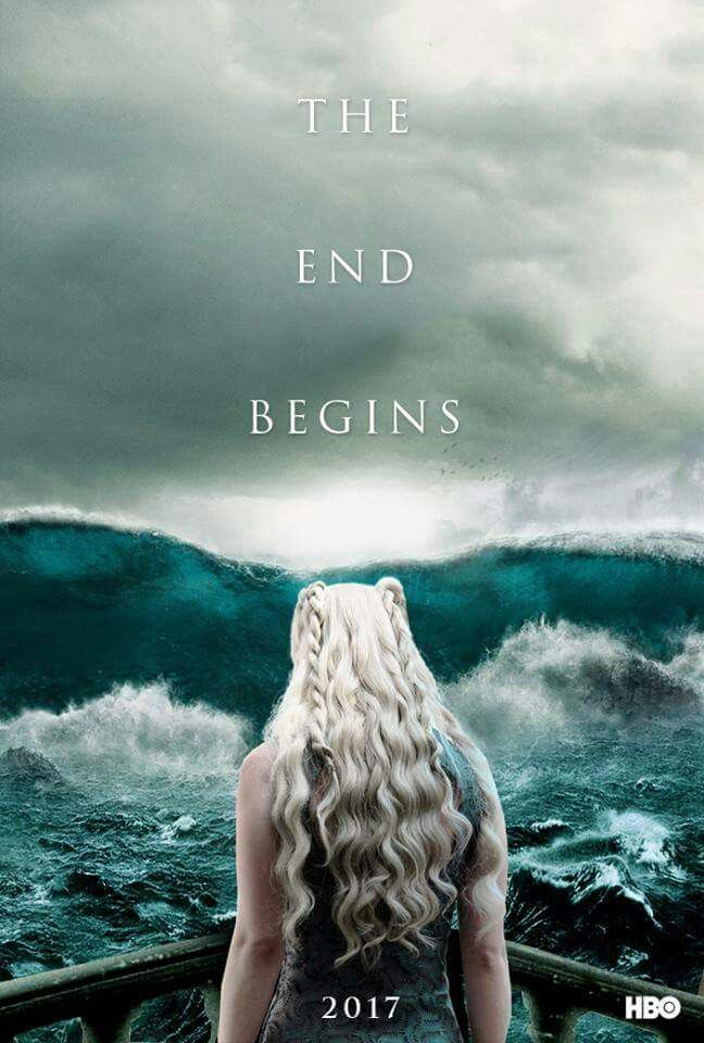 The end begins when the dragons burn them all | Game of