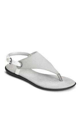 0638145f1798 Aerosoles Women s Conchlusion Sandals - Light Grey Combo - 9.5M