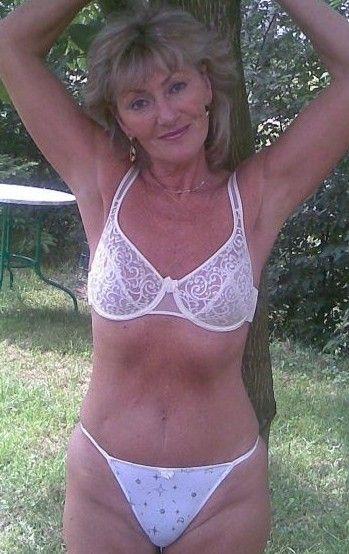 Horny sexy grandma