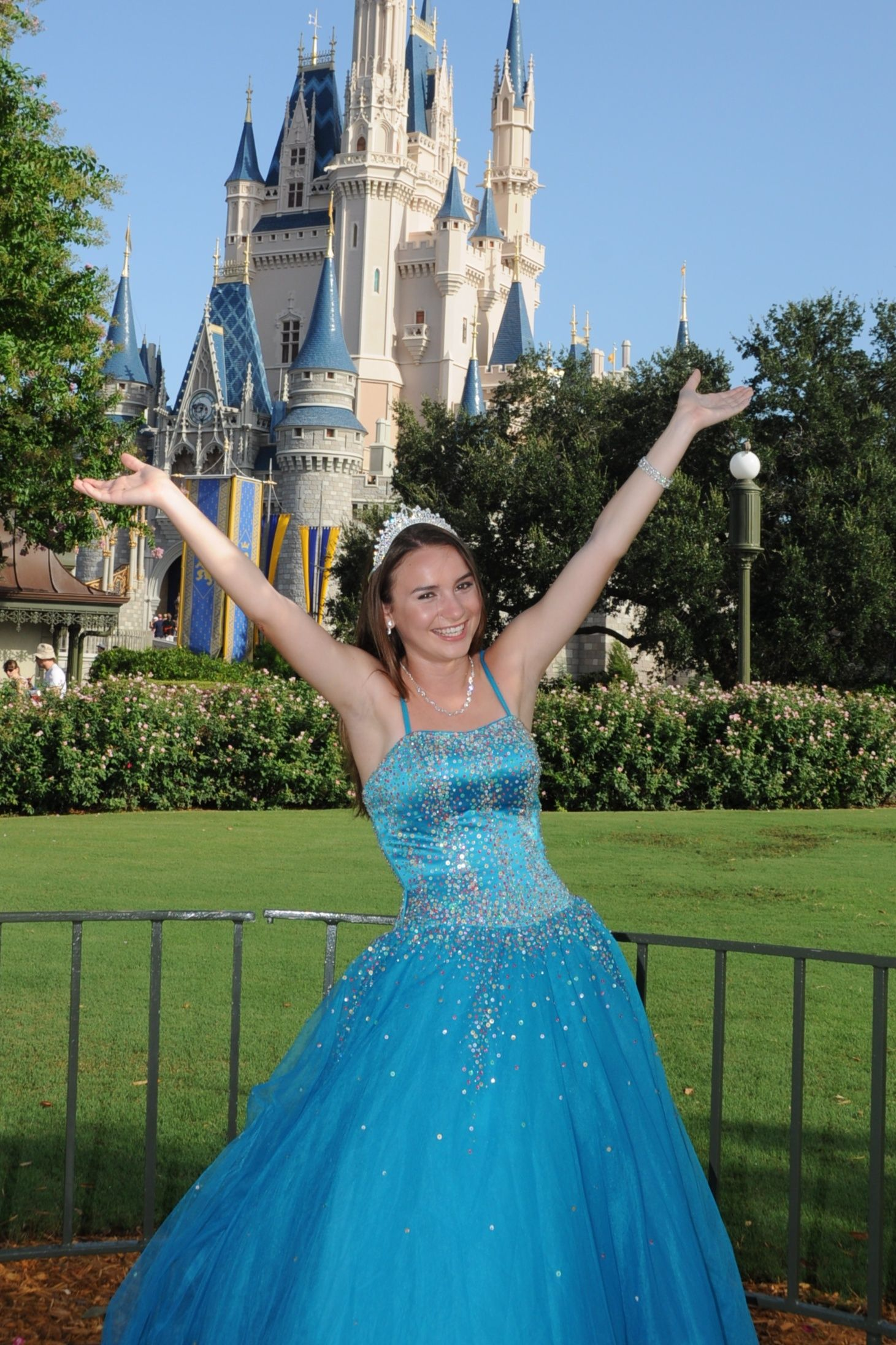 Quinceanera Photo Shoot At Disney World My Daughter
