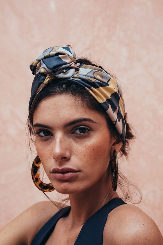 Chic ways to style a headscarf and examples of how to tie it   Miss FQ