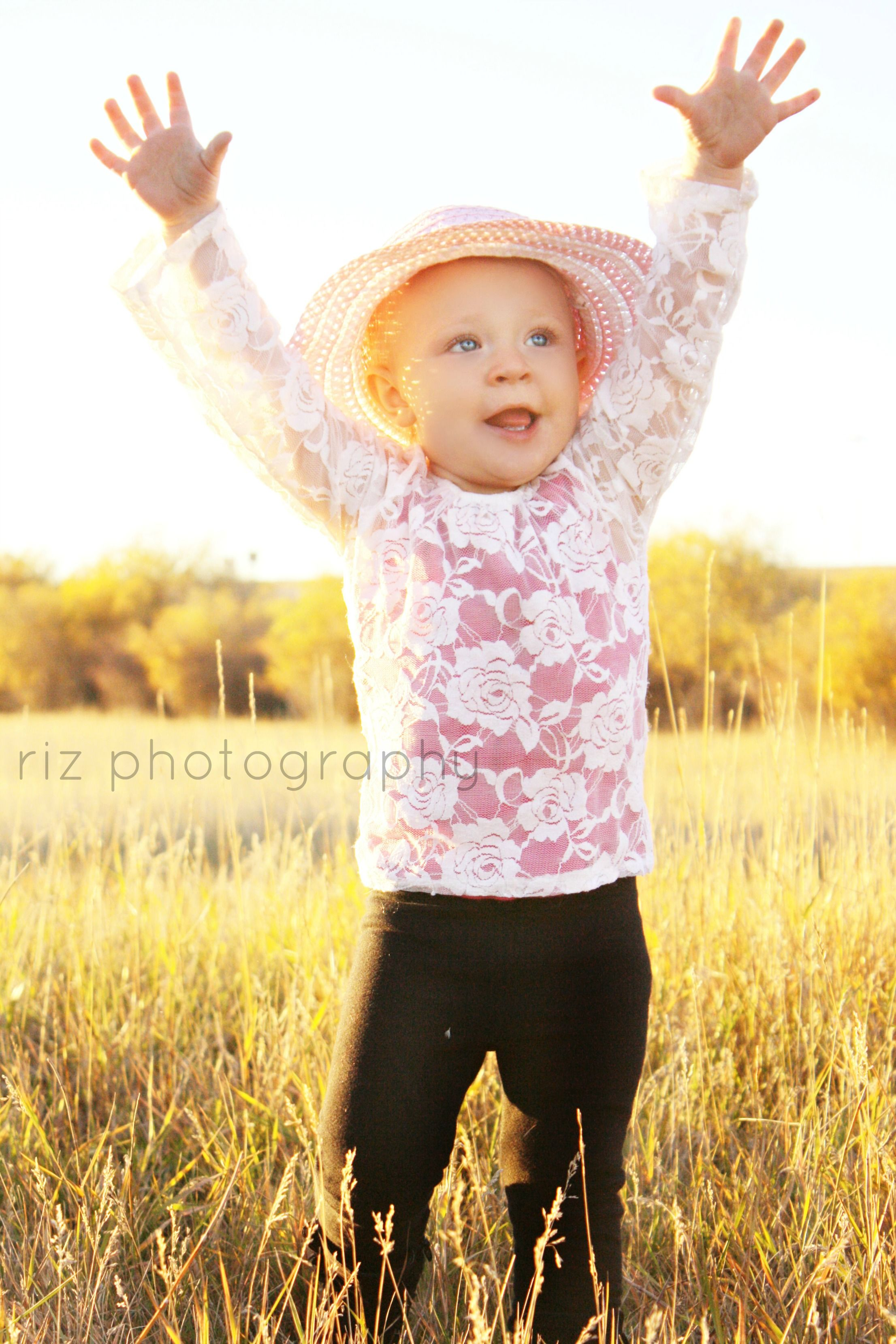 7cf308688 2 year old photo shoot. golden light. girl ~ Riz Photography ...