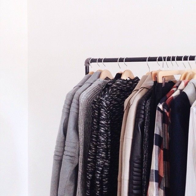 Fall and winter style require racks of warm jackets and thick knits
