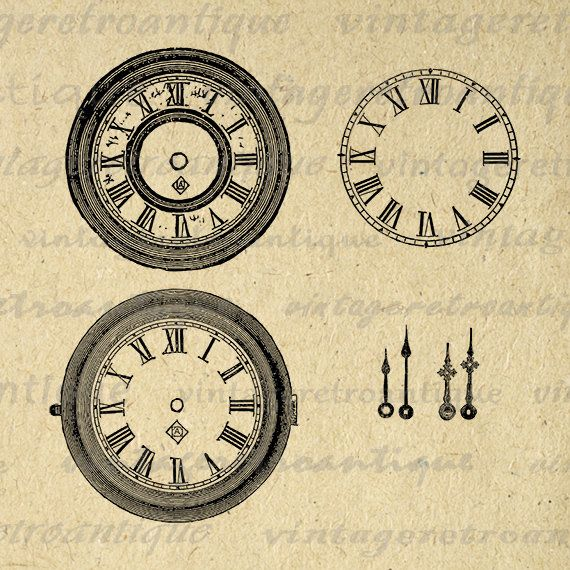This Item Is Unavailable Etsy In 2021 Clip Art Vintage Clock Face Blank Clock Faces