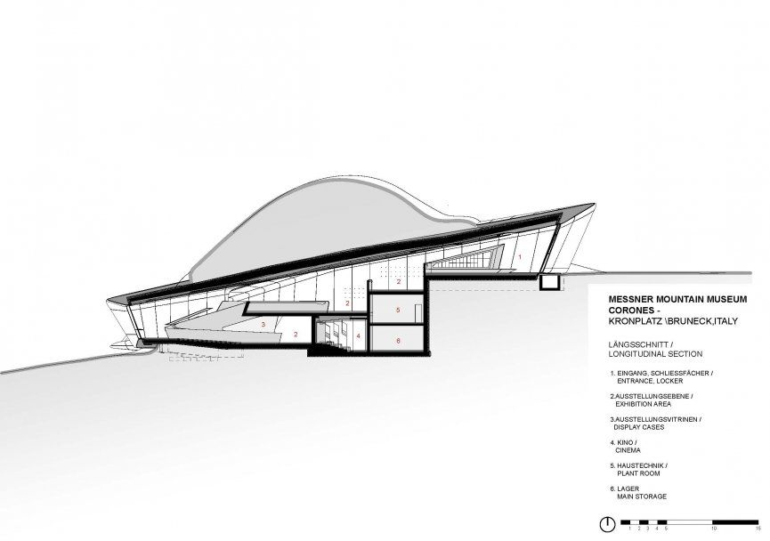 Messner Mountain Museum Corones - Architecture - Zaha Hadid Architects