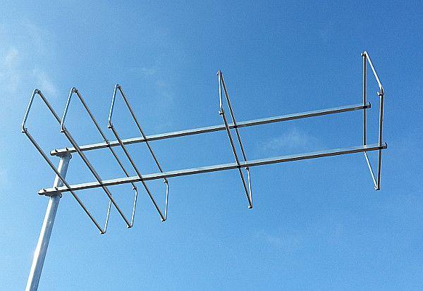 7 element 144MHz LFA-Q Super-Gainer Quad Style Yagi | Antennas | Ham