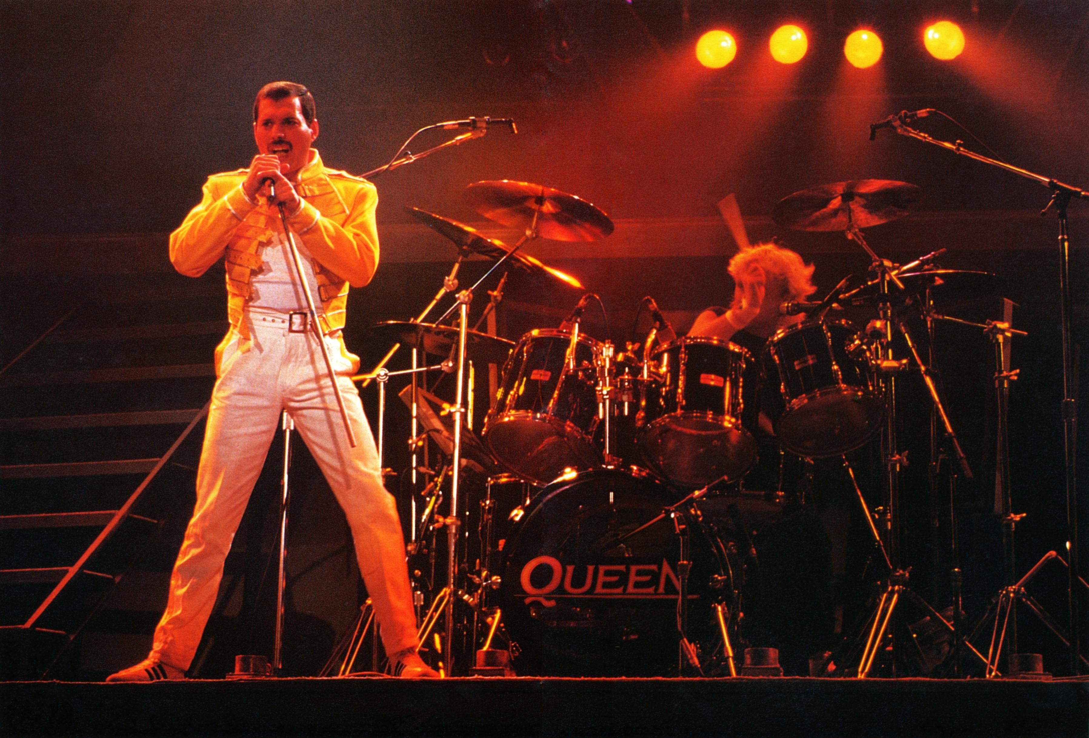 Freddie Mercury & Roger Taylor