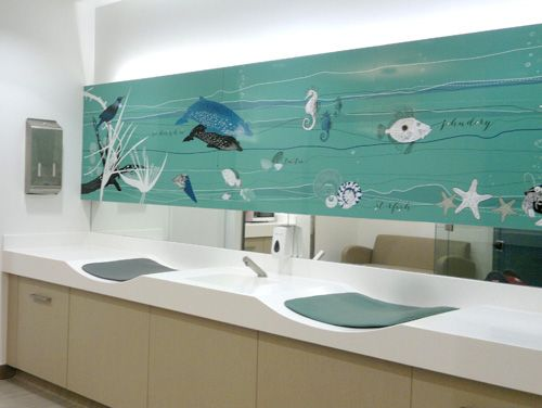 Wall Graphics Bayfair Shopping Centre Parents Room Duffy Design