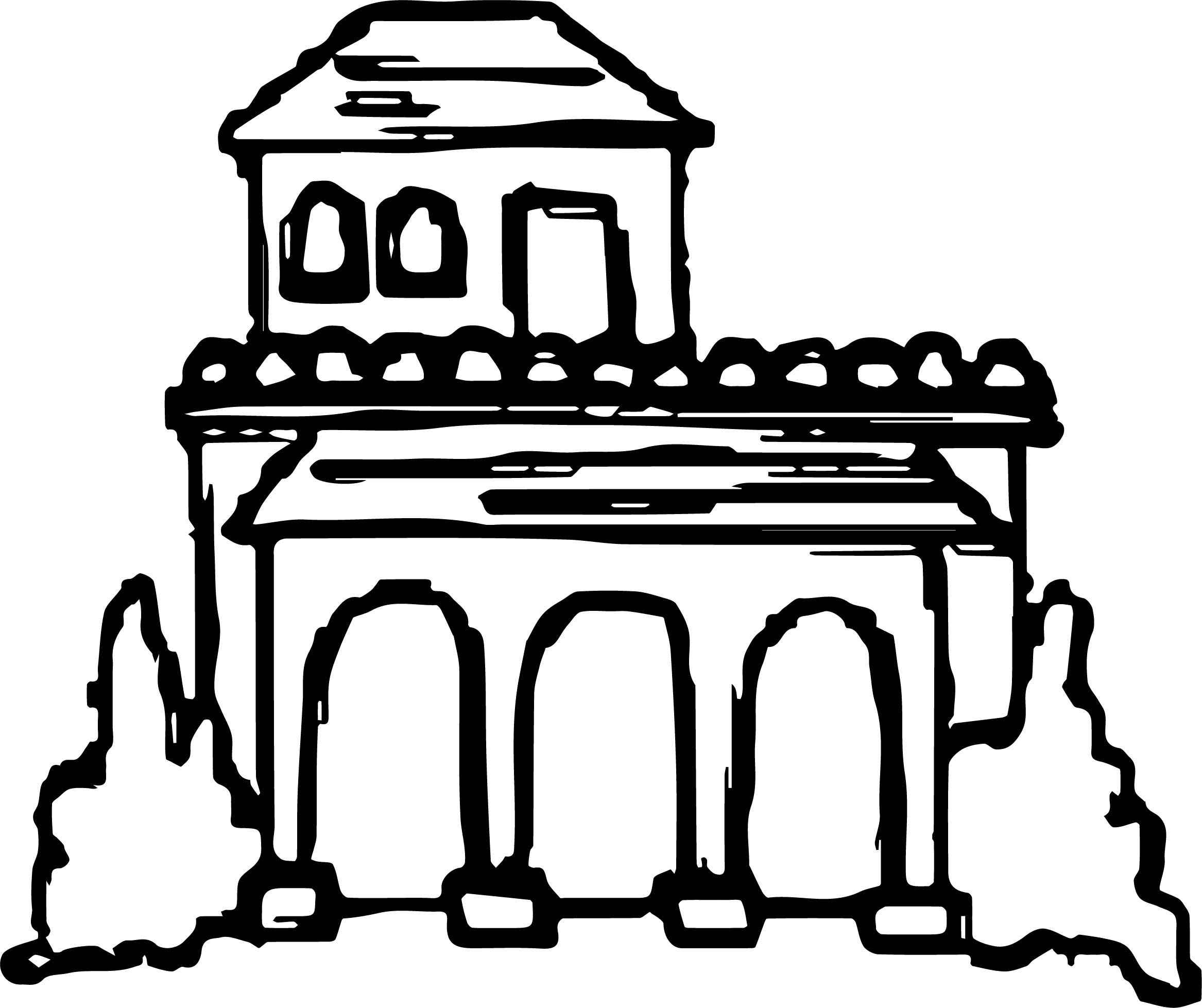Nice Ancient Roman Houses Coloring Page Ancient Roman Houses Roman House House Colouring Pages