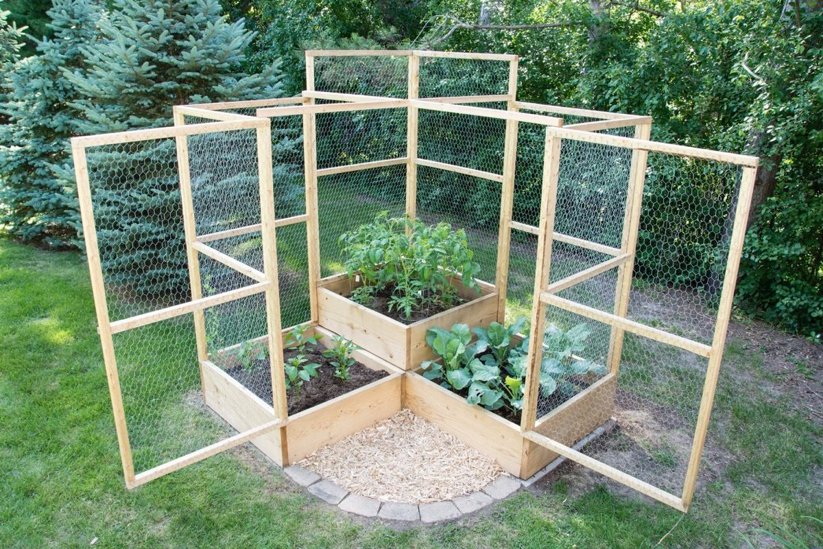 How To: Make a Modular Critter-Proof Vegetable Garden