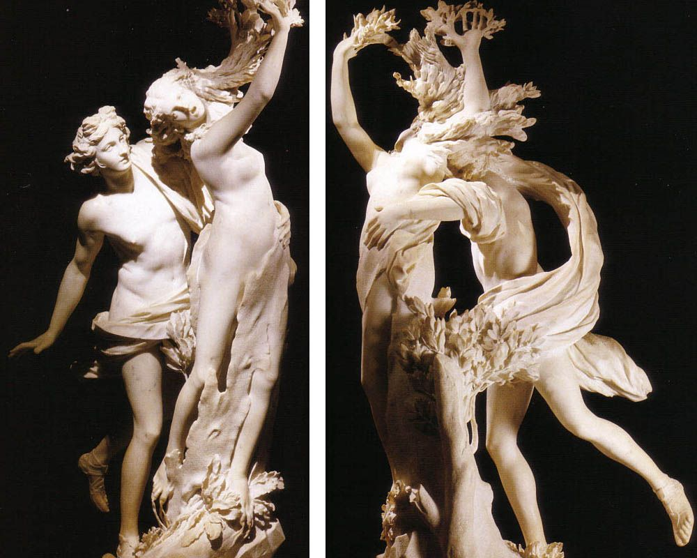 best images about gian lorenzo bernini baroque apollo and daphne love in vain