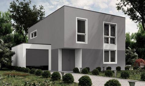 Eine Farbliche Stimmige Fassade In Grau Mehr Dazu Wwwkoloratde